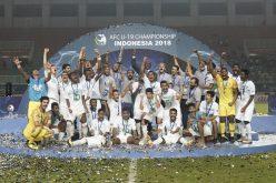 أندية الوطن تشارك الأخضر الشاب فرحة التتويج بكأس آسيا 2018