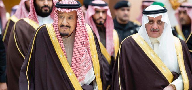 خادم الحرمين الشريفين يُشرف حفل استقبال أهالي منطقة تبوك
