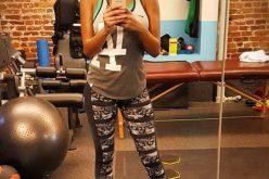 ياسمين صبري تؤكد تعافيها من الإصابة بتمارين قاسية