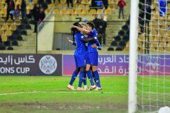 الهلال يتأهل إلى دور ربع النهائي من كأس زايد