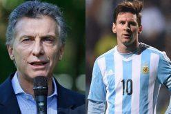 رئيس الأرجنتين يرغب برجوع ميسي للمنتخب