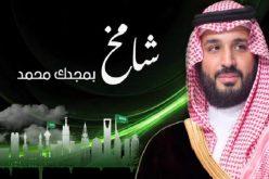 """آل الشيخ يهدي سمو ولي العهد """" شامخ """""""