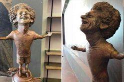 تمثال صلاح يثير عاصفة من السخرية