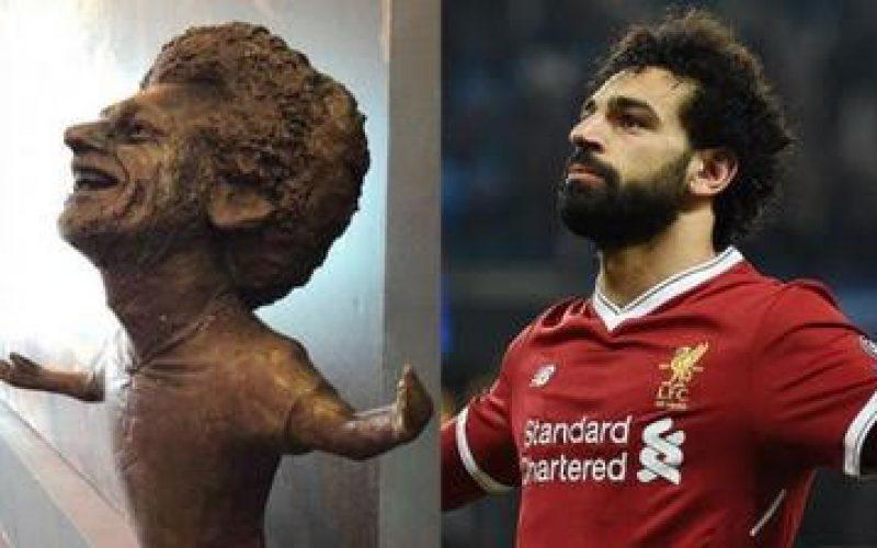 محمد صلاح يطلب صنع تمثال له