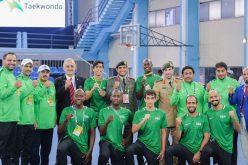 """""""أخضر التايكوندو"""" يحقق برونزية في بطولة العالم العسكرية"""