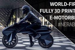 الكشف عن أول دراجة نارية مطبوعة بتقنية الـ 3D
