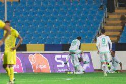 في مباراة مثيرة.. الأهلي يتغلب على التعاون (4-3)  بمساعدة «VAR»