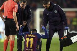 إصابة الكاحل تفقد برشلونة خدمات عثمان ديمبلي