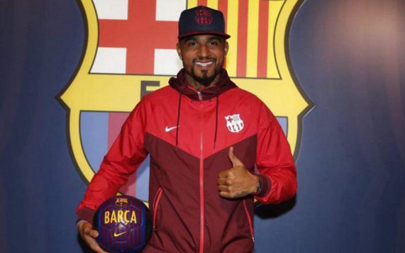 رسمياً: كيفن بواتينغ ينضم إلى برشلونة على سبيل الإعارة