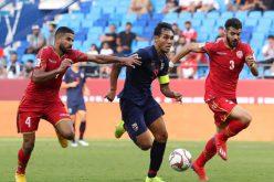 المنتخب البحريني يسقط أمام تايلاند