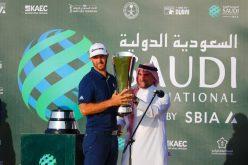 بالصور: الأمريكي داستن جونسون يتوج ببطولة السعودية الدولية لمحترفي الجولف