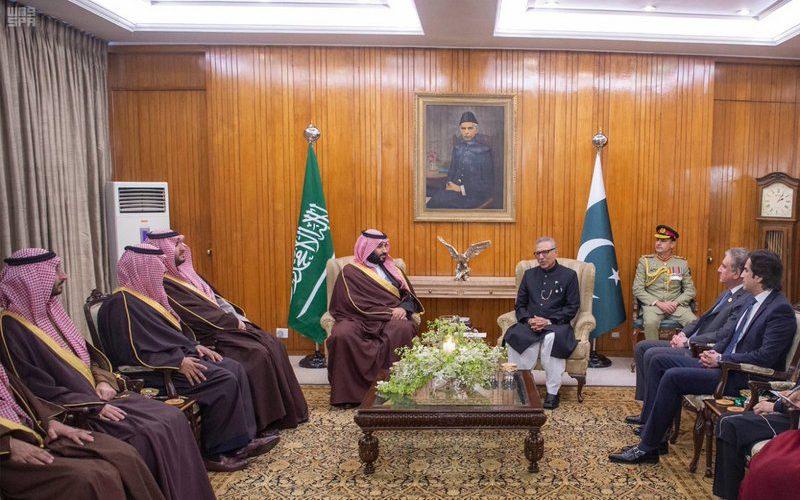تعرف على تفاصيل الزيارة الناجحة لسمو ولي العهد إلى باكستان (صور)