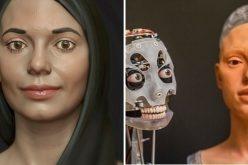 """شركة مختصة في الفنون الهندسية تقدم أول """"فنانة تشكيلية آلية"""" في العالم"""