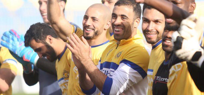 النصر يبدأ استعداداته للديربي الحاسم مع الهلال