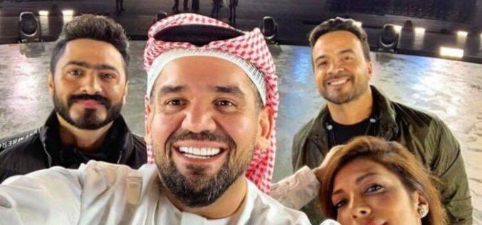 أصالة و الجسمي و تامر حسني .. يشاركون نجوم عالميين في أولمبياد أبوظبي