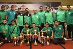 المنتخب السعودي لرفع الأثقال يتوج بالمركز الأول في بطولتي الخليج وغرب آسيا