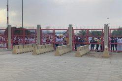بالصور جماهير النصر تتوافد منذ وقت مبكر على ملعب المباراة