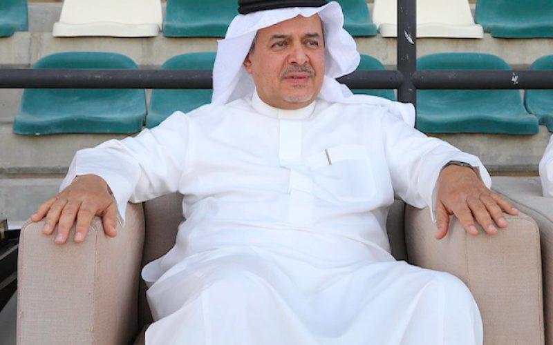 منصور بن مشعل يعد اللاعبين بمكافأة مضاعفة في حالة التأهل