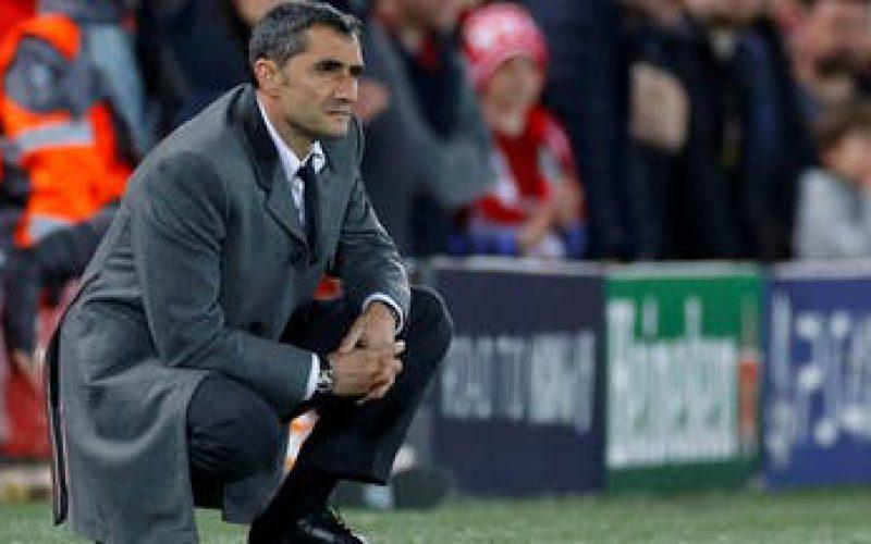 إقالة محتملة لـ مدرب برشلونة فالفيردي خلال الساعات المقبلة