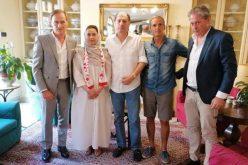 بالصور .. الأميرة نورة بنت سعد تشتري نادي سبوليتو الإيطالي لكرة القدم