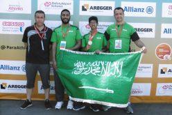 منتخب ألعاب القوى لذوي الإعاقة يختتم مشاركته في بطولة العالم بتحقيق 4 فضيات