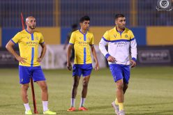 النصر يواصل استعدادته لمباراة الحزم… وبلغف يدعم النادي بصف مليون