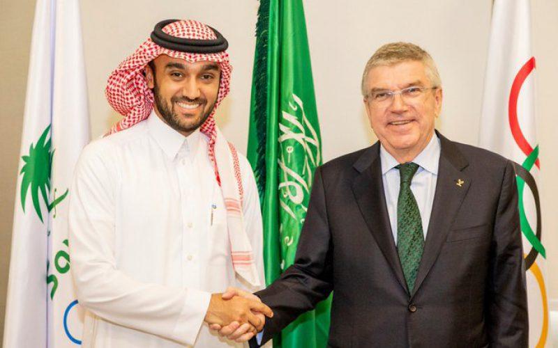 الأمير عبدالعزيز الفيصل يستقبل رئيس اللجنة الأولمبية الدولية