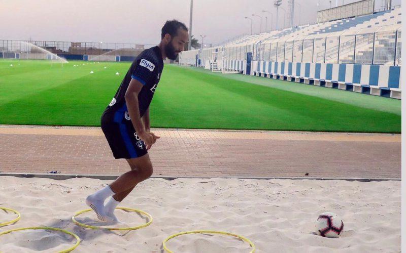 الرمل .. يجهز عبدالله عطيف