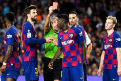انفعال ديمبلي قد يحرمه من المشاركة في الكلاسيكو أمام مدريد