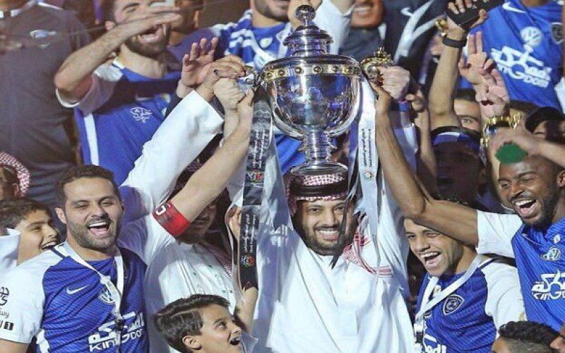 تركي آل الشيخ يعد لاعبي الهلال بـ 200 ألف ريال