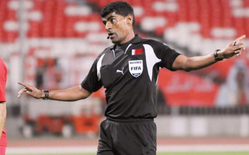 صافرة بحرينية تقود لقاء المنتخب السعودي والبارجواي