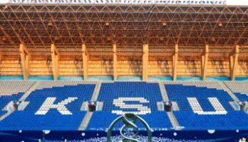 كأس آسيا يصل إلى ملعب الهلال استعدادًا لمباراة الهلال و أوراوا بنهائي البطولة الآسيوية