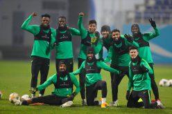 الأخضر يبدأ أولى حصصه التدريبية بالعاصمة الأوزبكية طشقند (فيديو وصور)