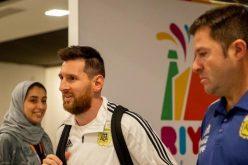 ميسي ونجوم التانغو يصلون إلى الرياض