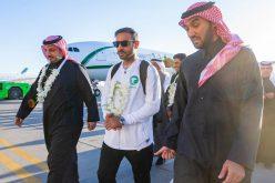 الفيصل يستقبل بعثة الأخضر الأولمبي