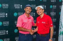 الهيئة العامة للاستثمار تدعم لاعب الجولف السعودي عثمان الملا