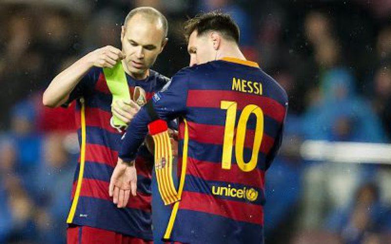 أنييستا: برشلونة لم يستغل #ميسي كما ينبغي