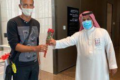 شاموسكا وأجانب الفيصلي يصلون إلى الرياض